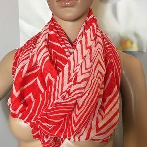 Calvin Klein chevron infinity scarf